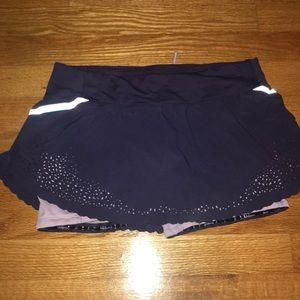 Purple lululemon size 2 skirt